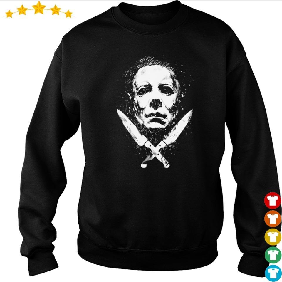 Scary Michael Myers Mask halloween s sweater