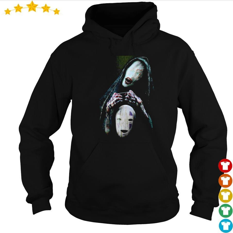 Scary No-Face character Halloween s hoodie