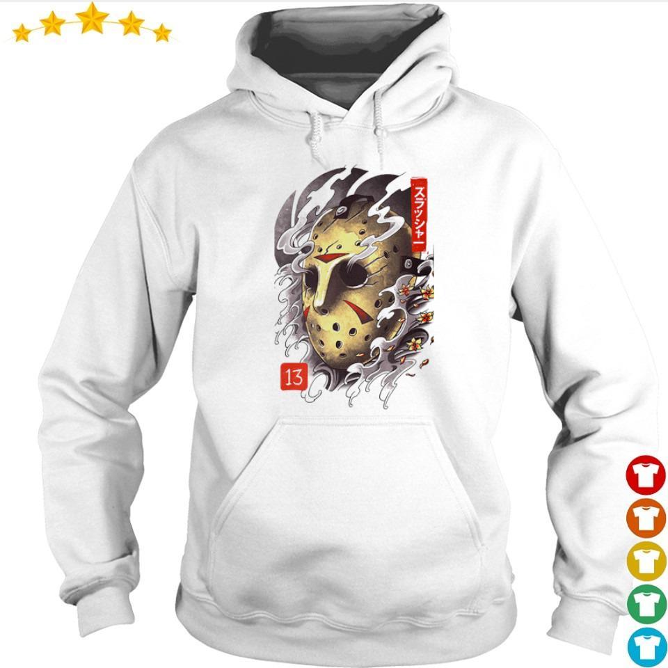 Scary oni Jason Mask Halloween s hoodie