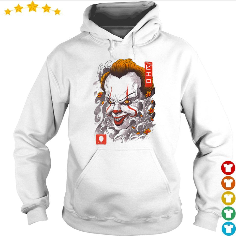 Scary oni Pennywise mask happy Halloween s hoodie