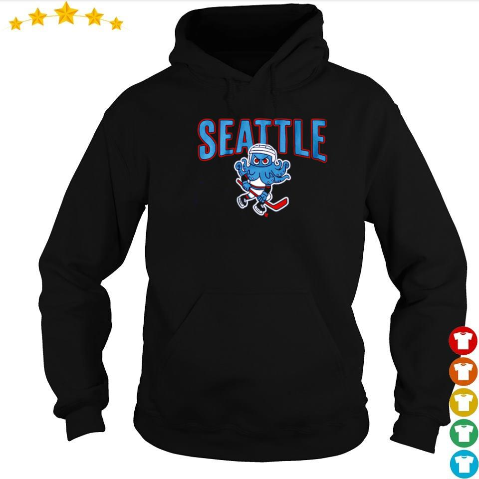 Seattle Kraken Hockey logo s hoodie