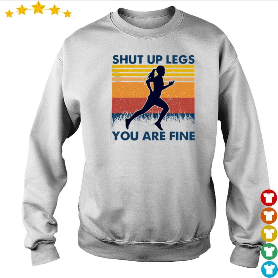 Shut up legs you are fine vintage s sweater