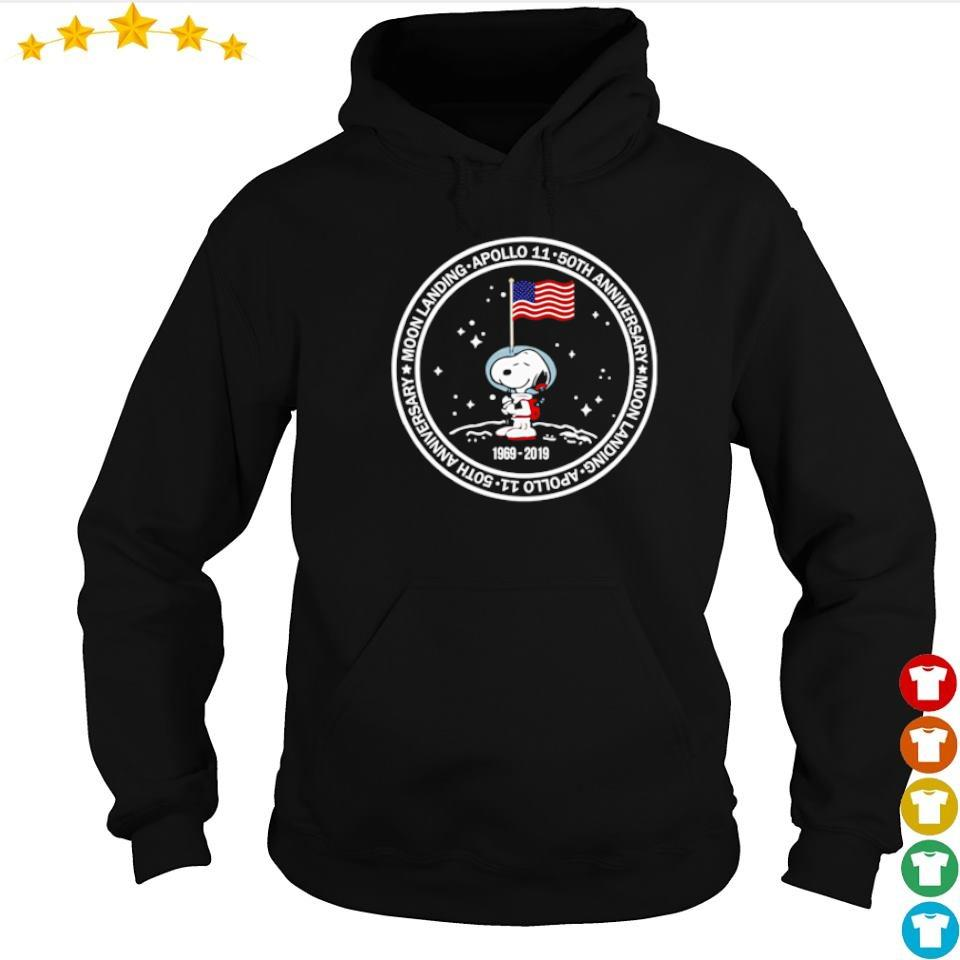 Snoopy Apollo 11 50th anniversary moon landing s hoodie