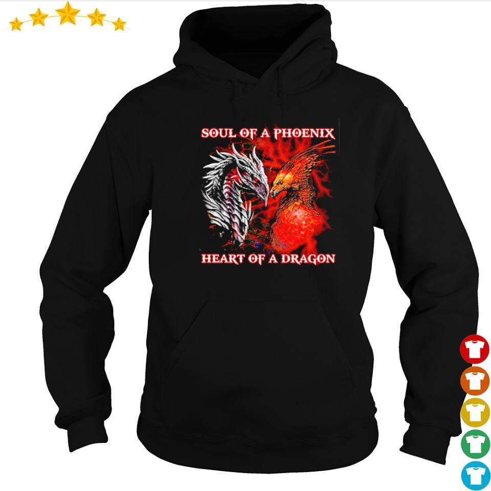 Soul of a phoenix heart of a dragon s hoodie