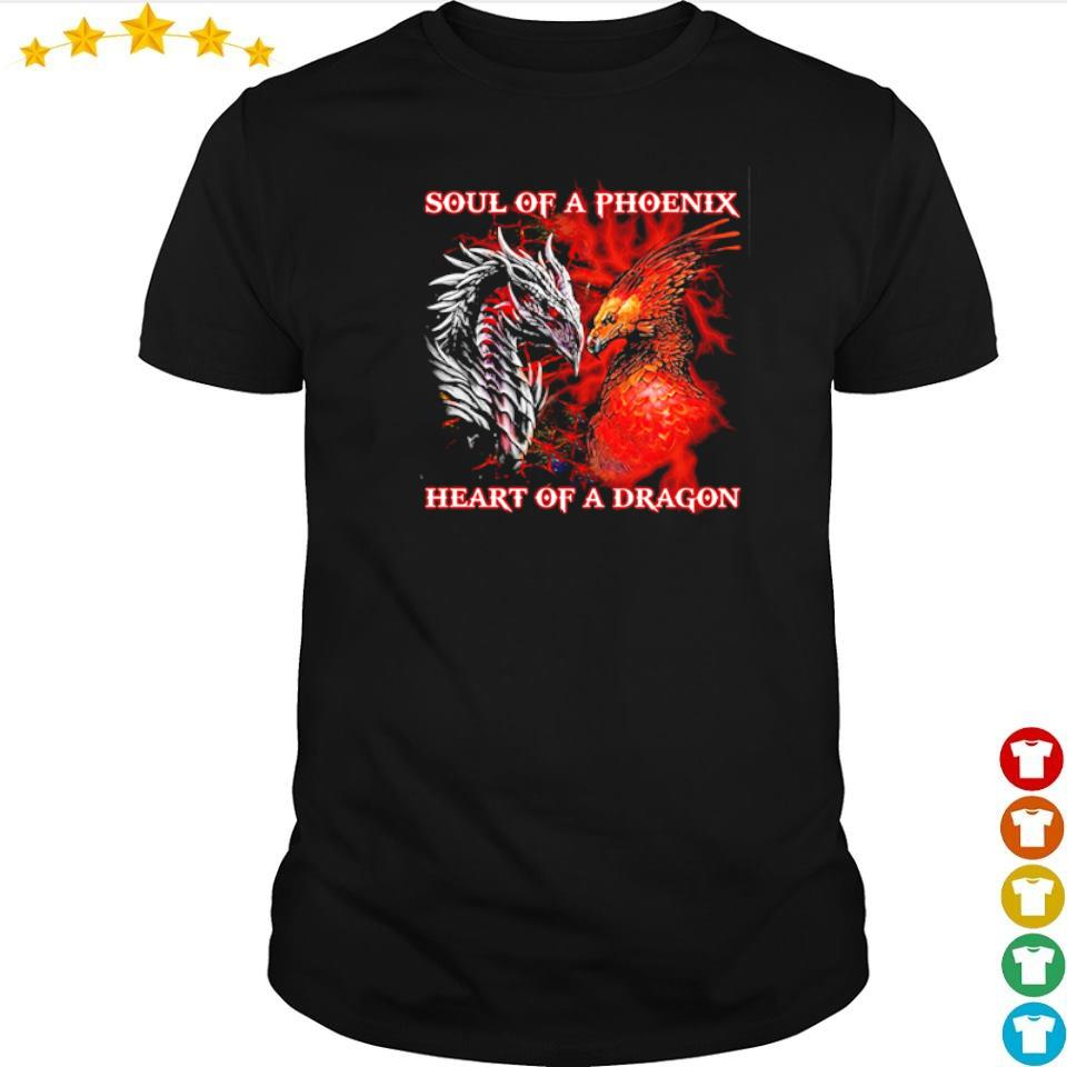 Soul of a phoenix heart of a dragon shirt