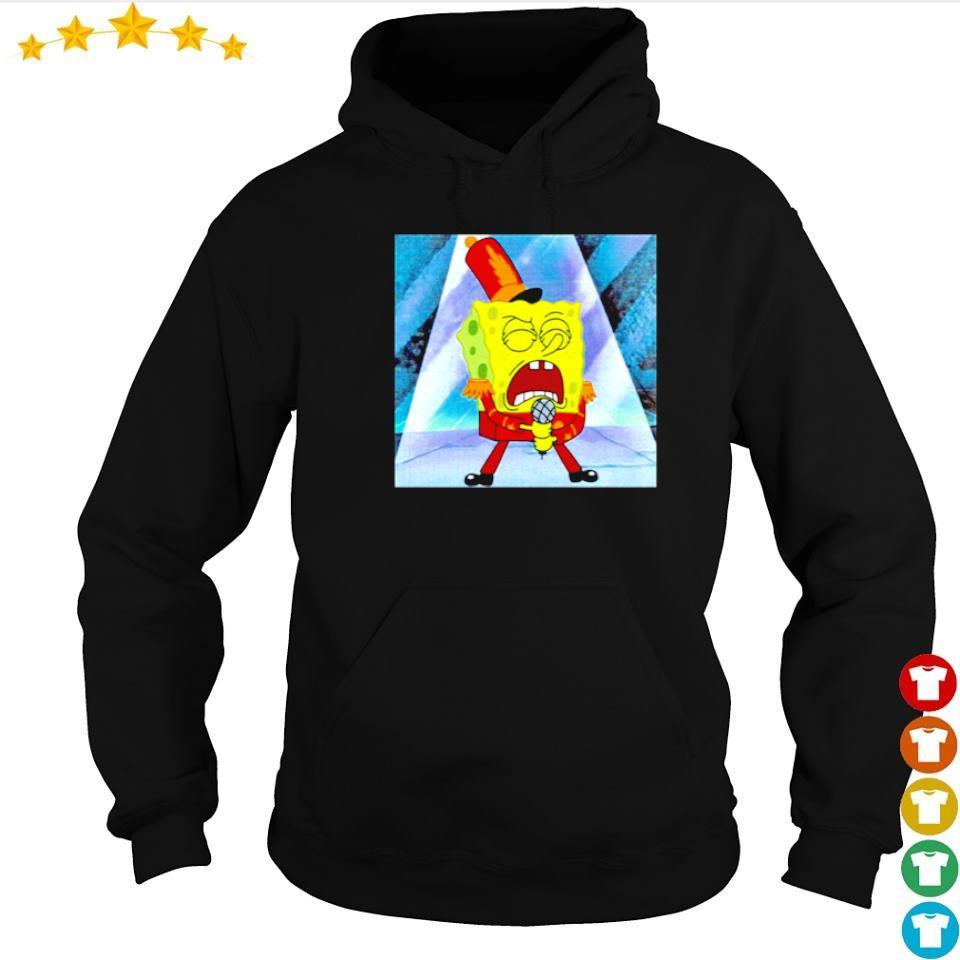 SpongeBob SquarePants singing s hoodie