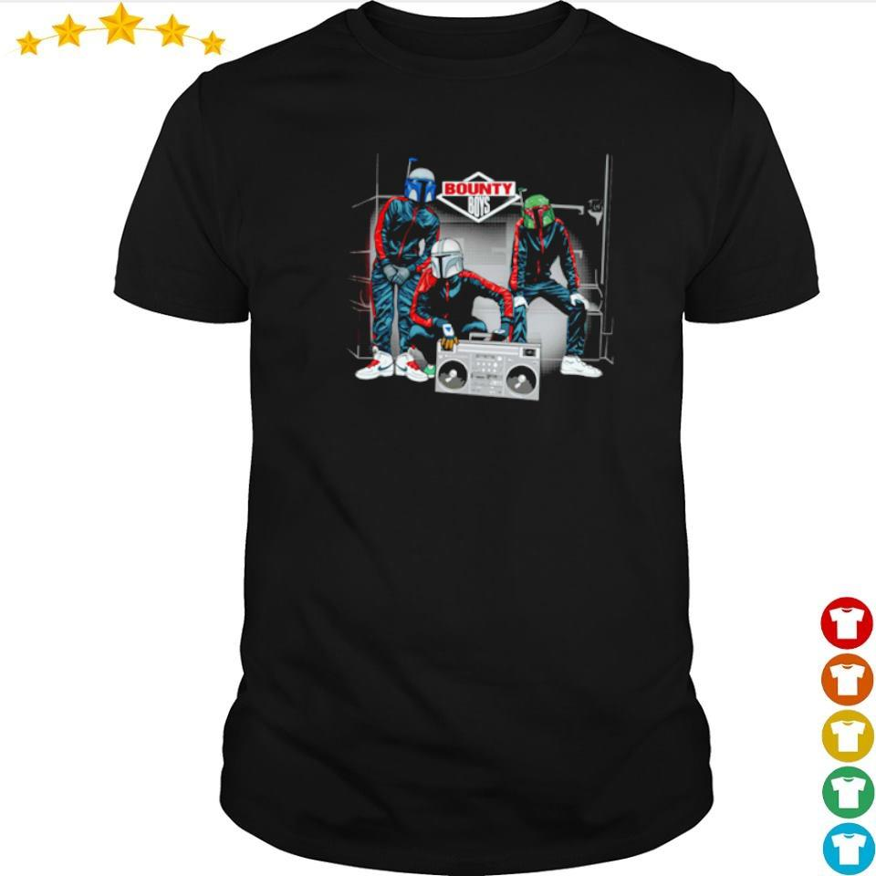 Star Wars Mandalorian the bounty boys shirt