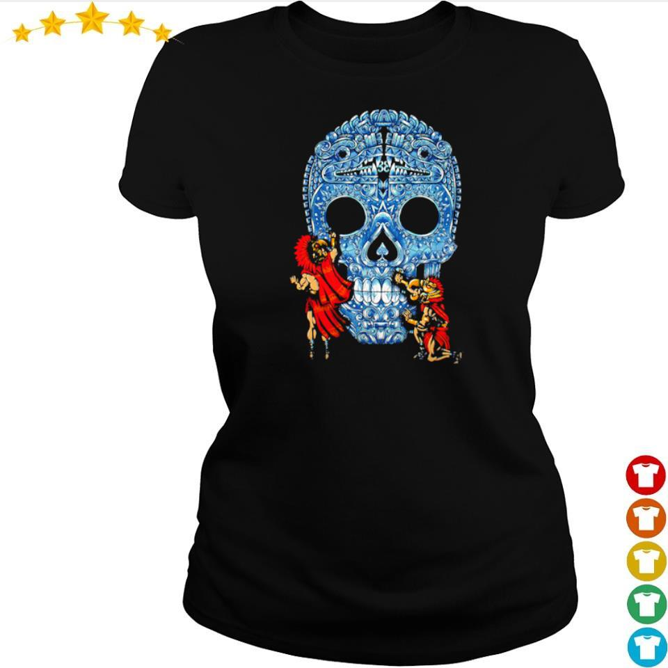 Sugar skull day's of the dead s ladies tee