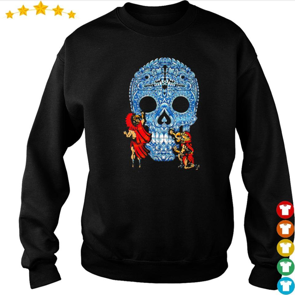 Sugar skull day's of the dead s sweater