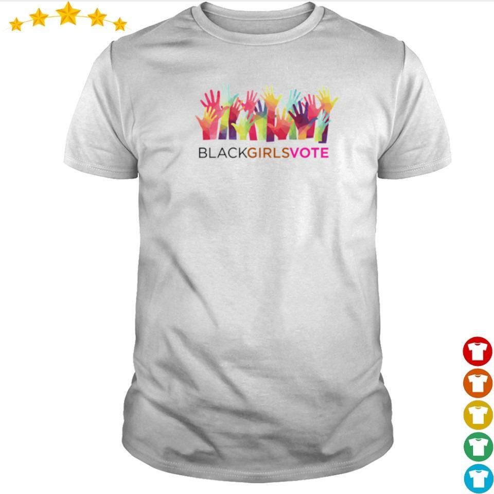 Together we fight black girls vote shirt