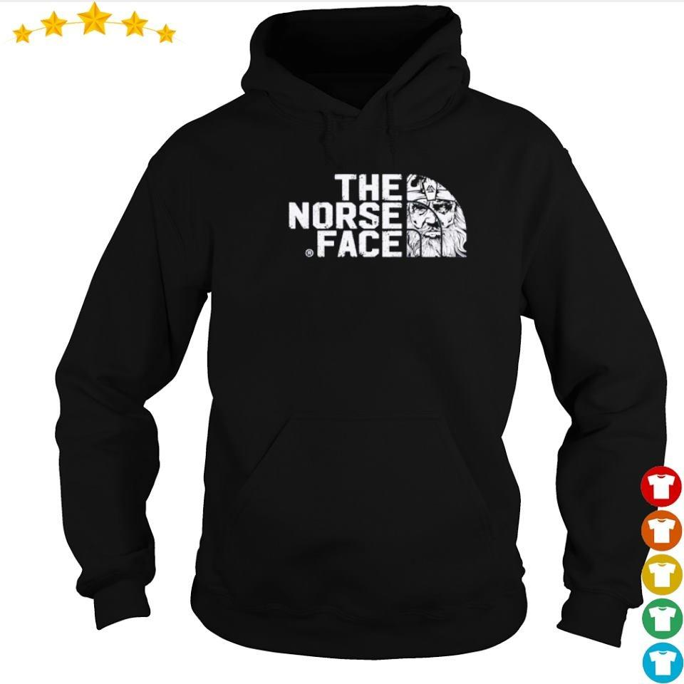 Viking valhalla the norse face s hoodie
