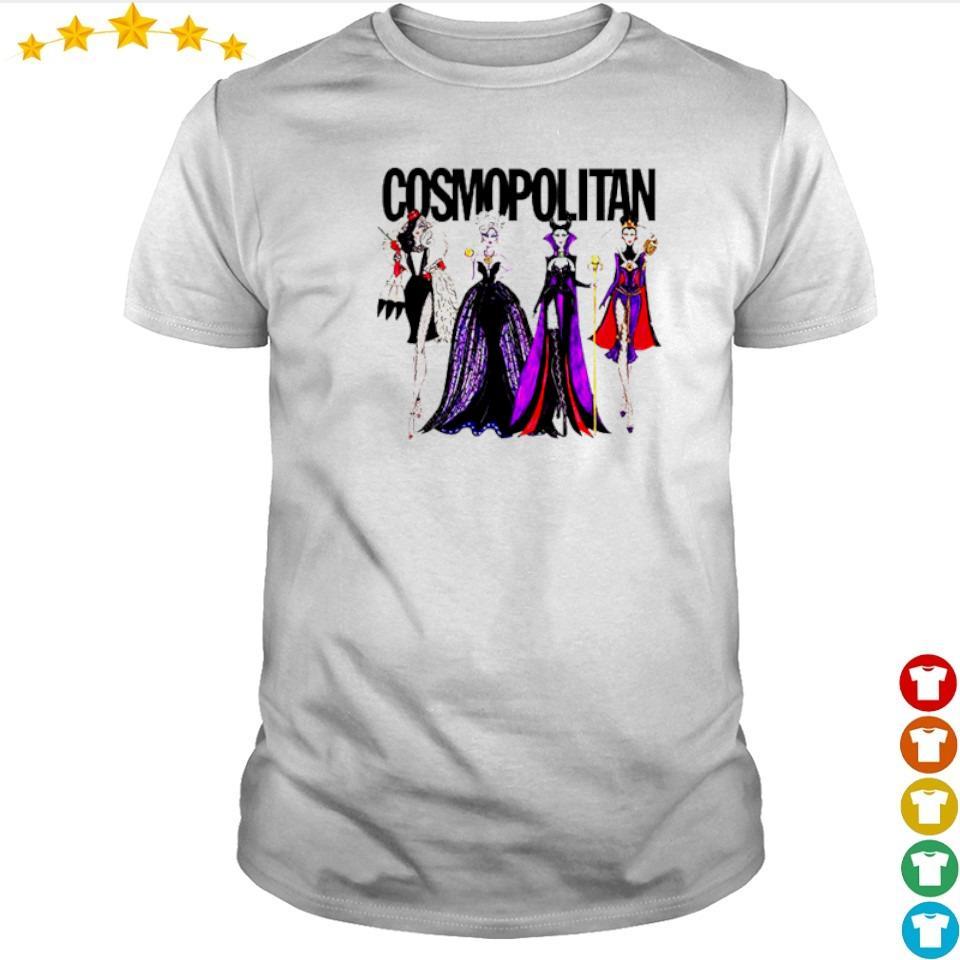 Vogue Disney villains evil cosmopolitan shirt
