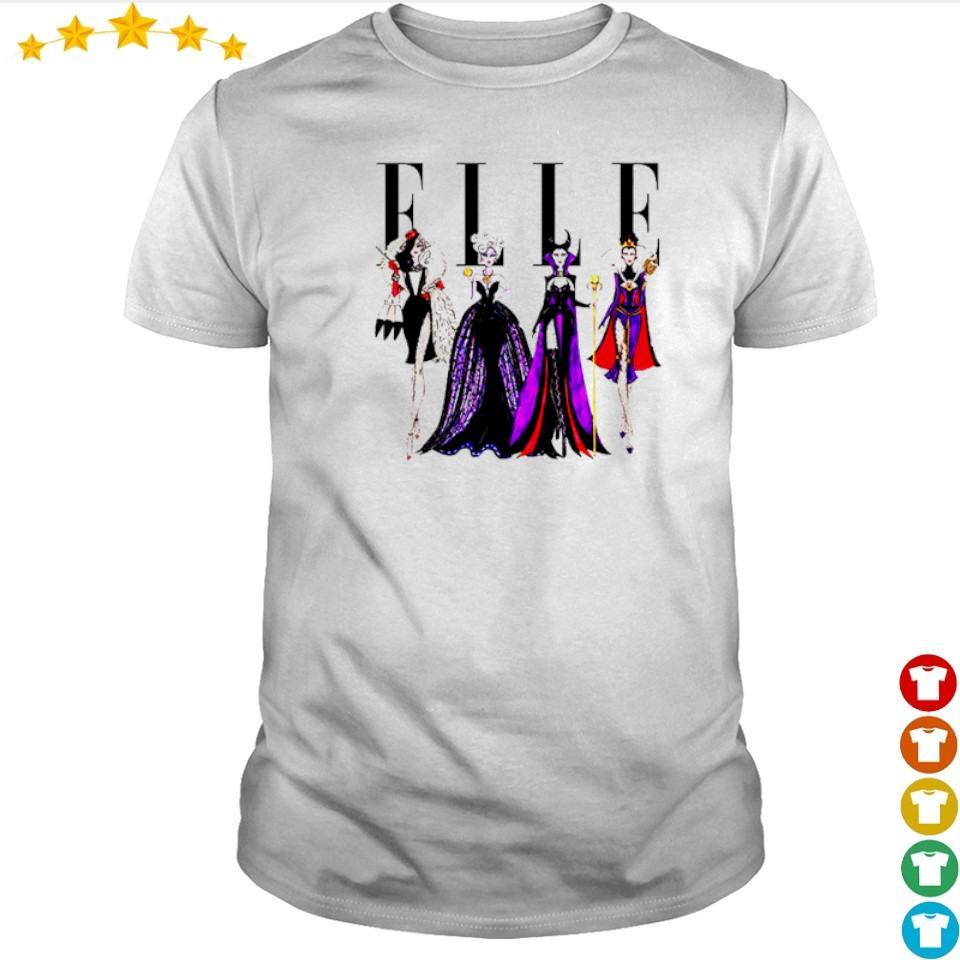 Vogue Disney villains evil elle shirt