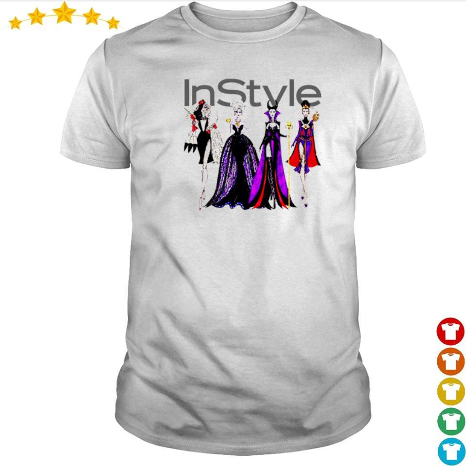 Vogue Disney villains evil instyle shirt