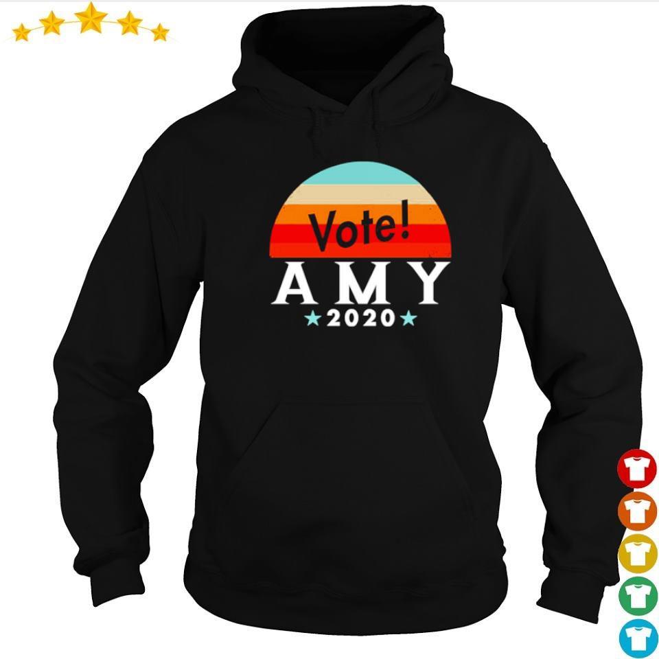 Vote amy klobuchar 2020 vintage s hoodie
