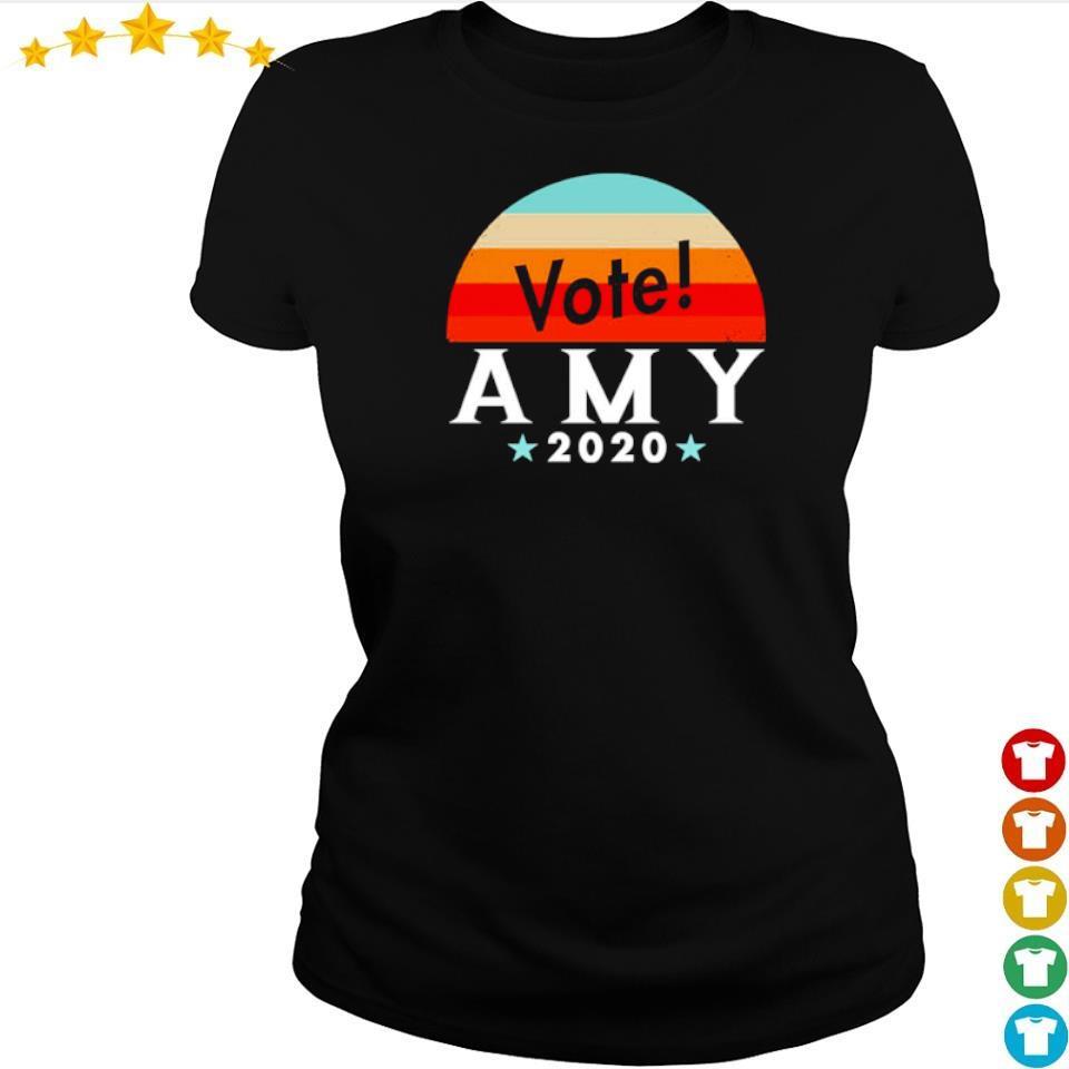 Vote amy klobuchar 2020 vintage s ladies tee