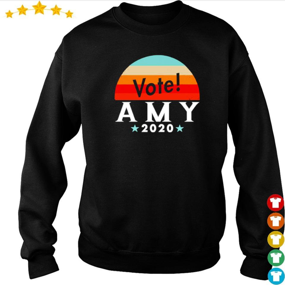 Vote amy klobuchar 2020 vintage s sweater
