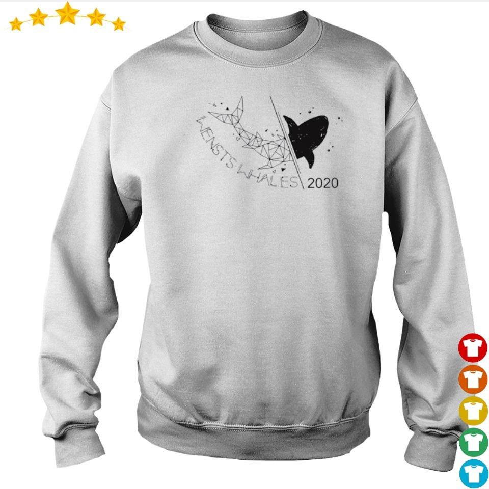 Wensts whales class shark 2020 s sweater