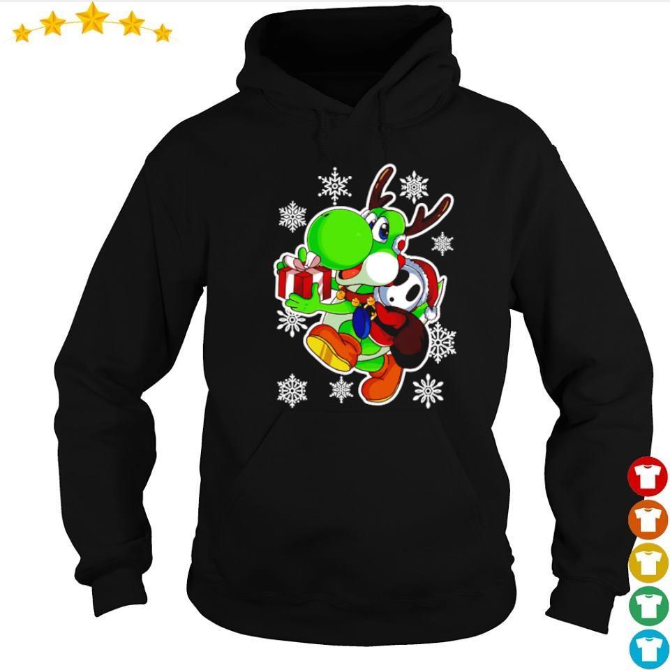 Yoshi in Mario Bros happy Halloween s hoodie