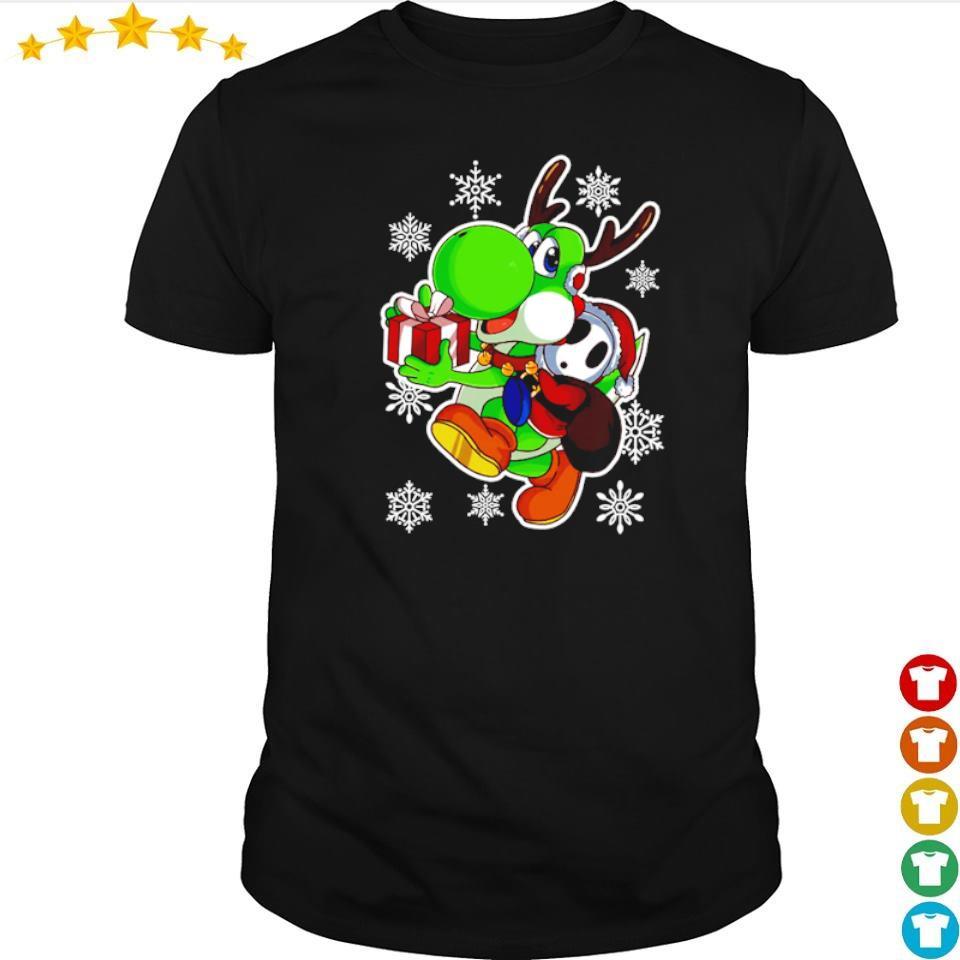 Yoshi in Mario Bros happy Halloween shirt