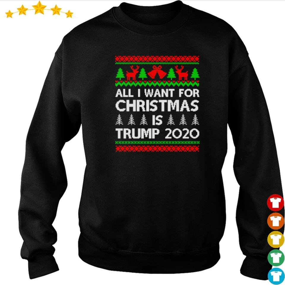 All I want for Christmas is Trump 2020 sweater
