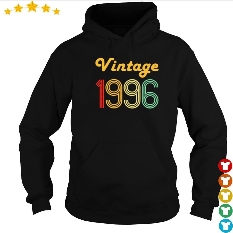 Awesome 24th vintage 1996 gifts s hoodie