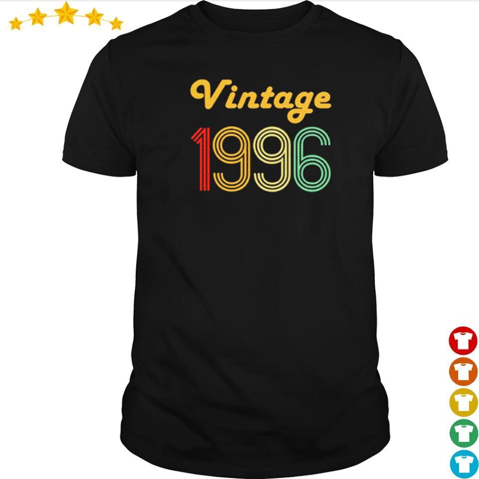 Awesome 24th vintage 1996 gifts shirt