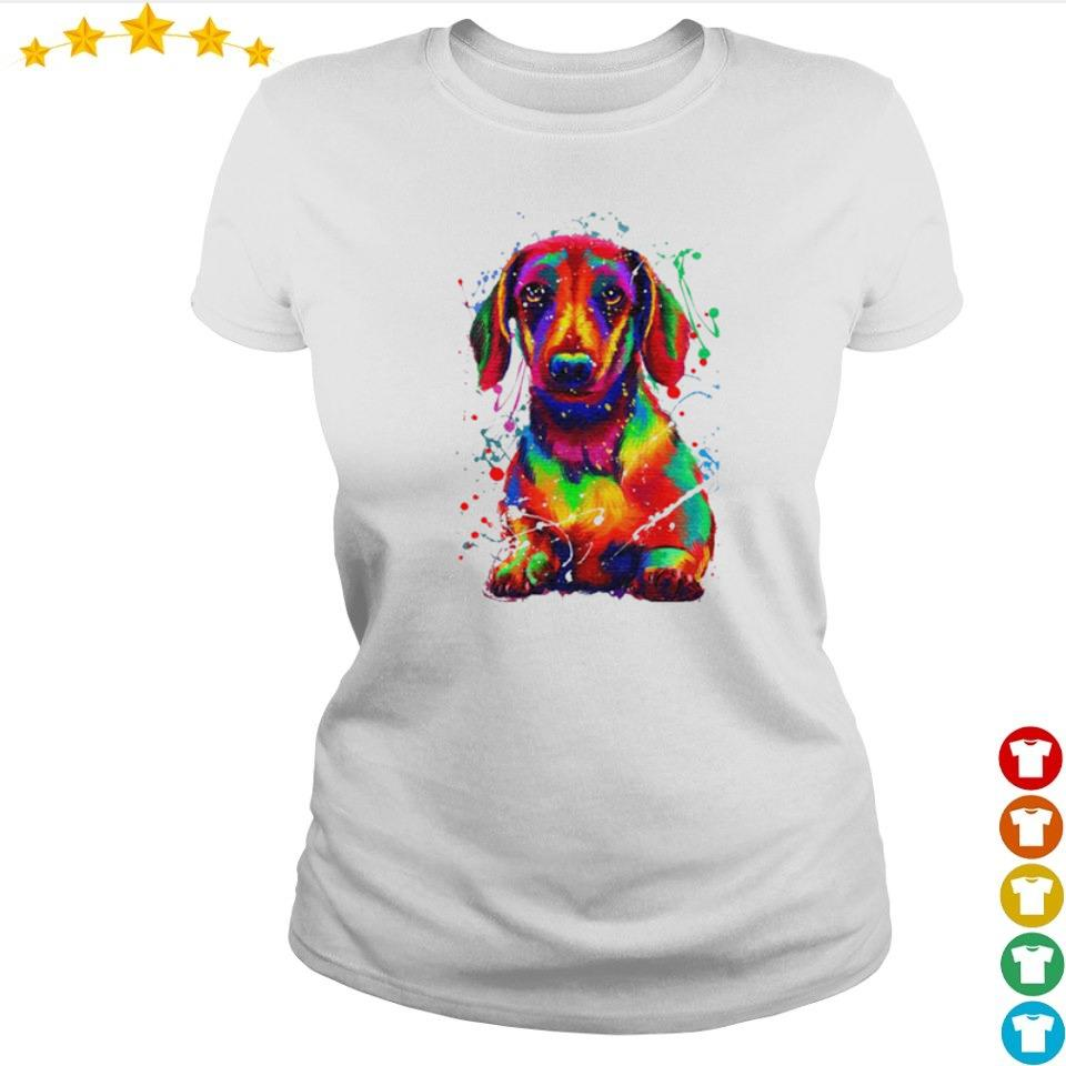 Awesome dachshund full color s ladies