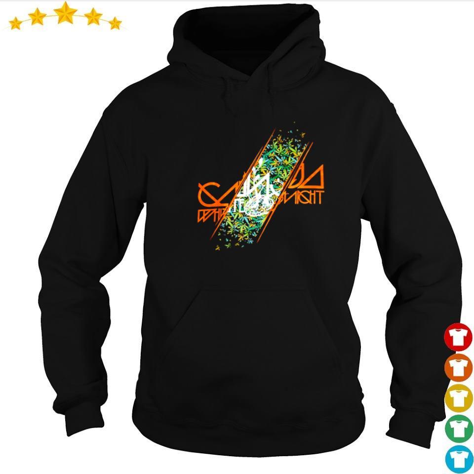Awesome ganja white night s hoodie