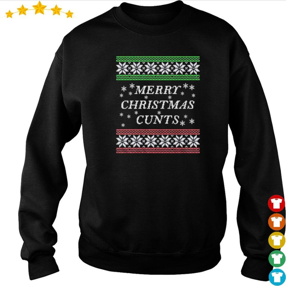 Awesome merry Christmas cunts sweater