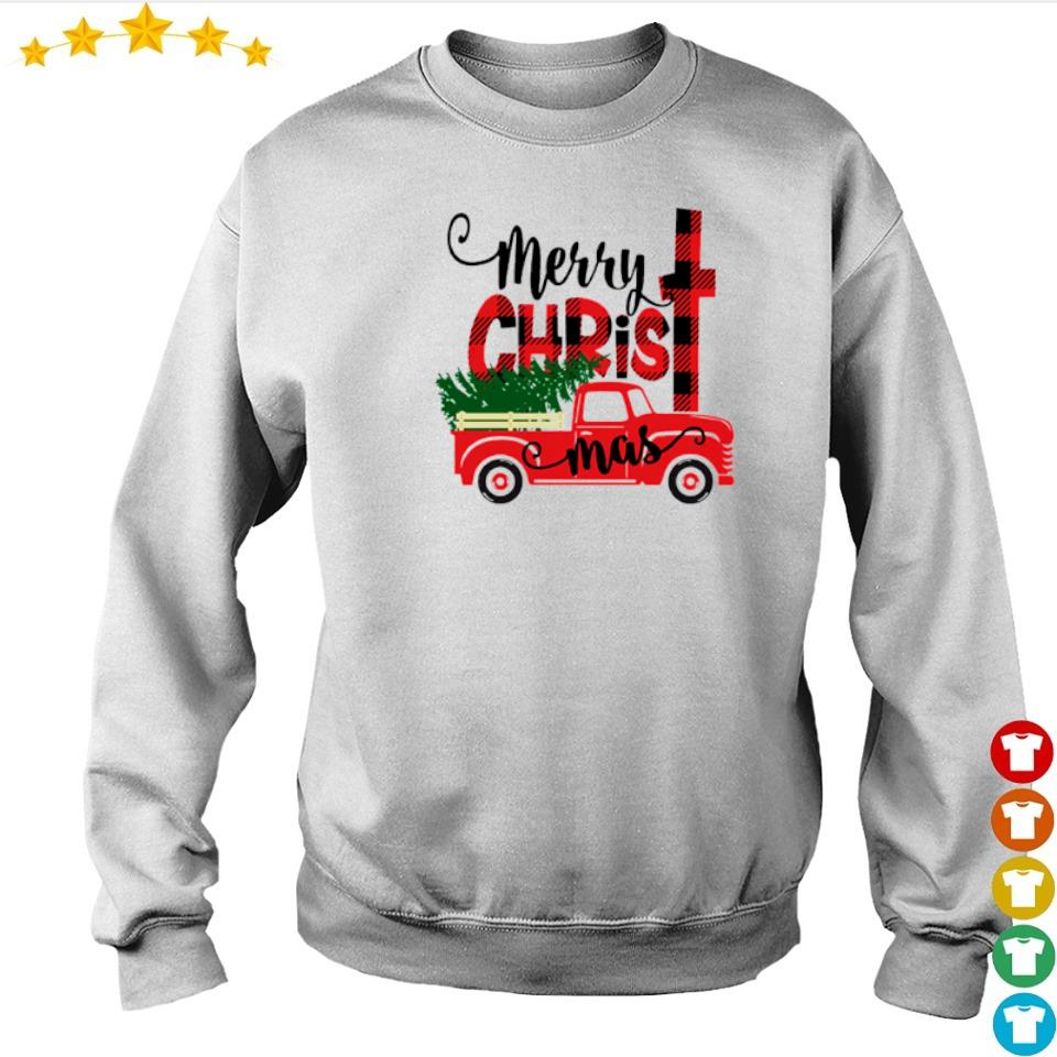 Awesome truck merry Christmas sweater