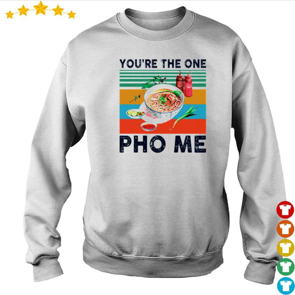 Awesome you're the one Pho Me vintage s sweater