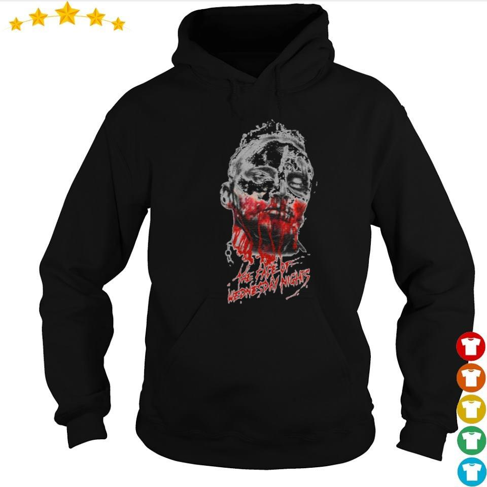Darby Allin the face of wednesday night s hoodie