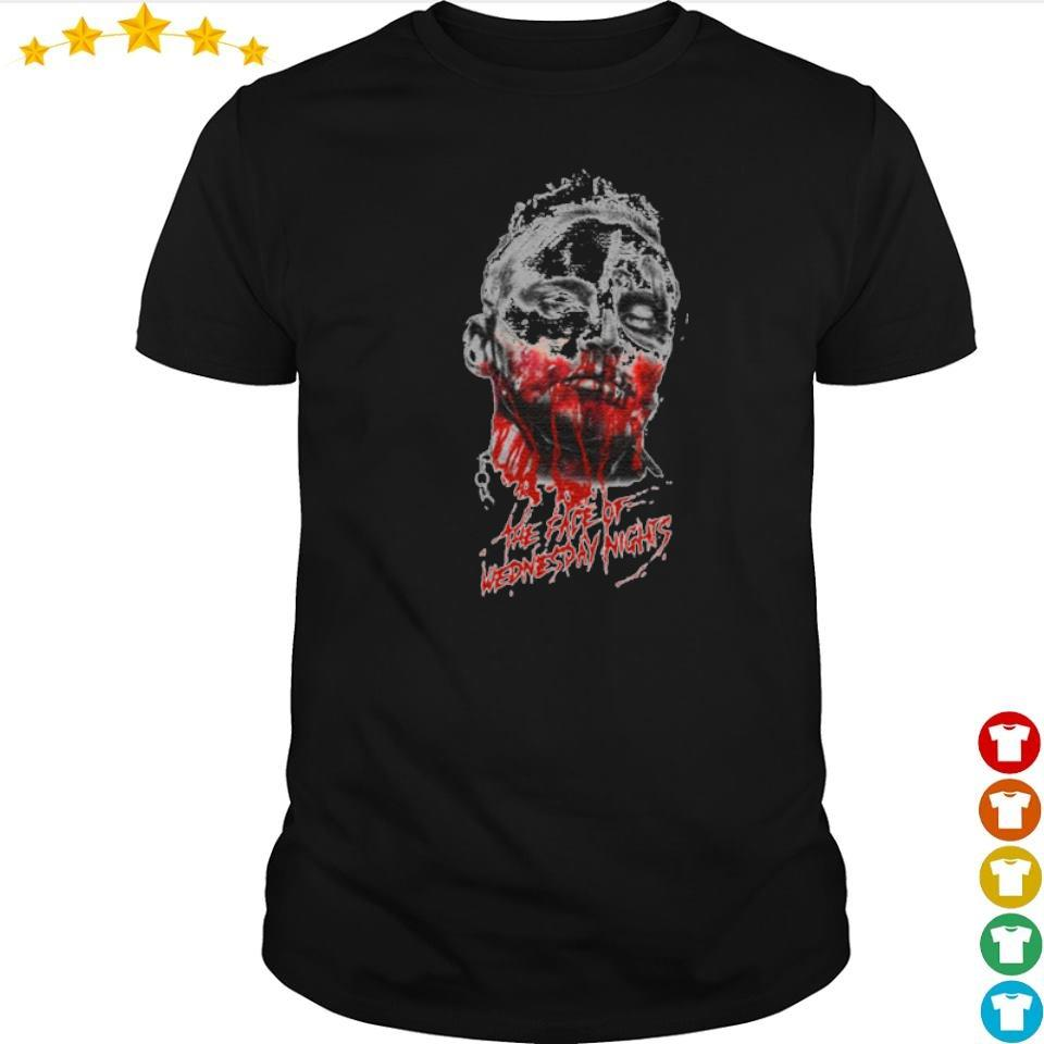 Darby Allin the face of wednesday night shirt