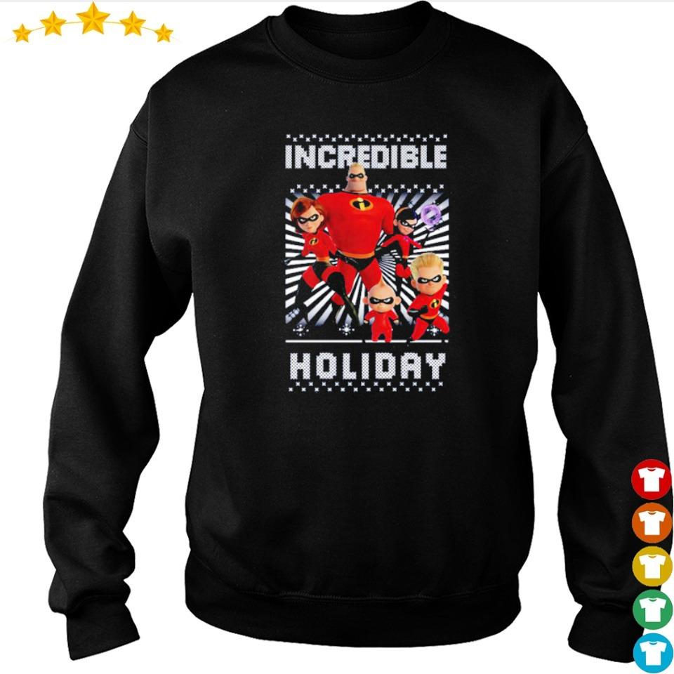 Disney Incredibles 2 holiday merry Christmas sweater
