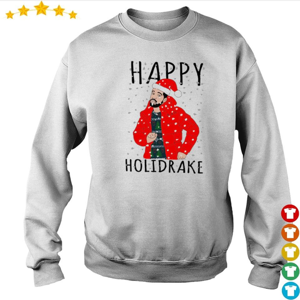 Drake happy Holidrake merry Christmas sweater