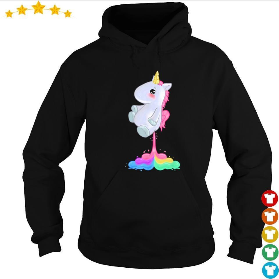 Funny cute uncorn fart s hoodie