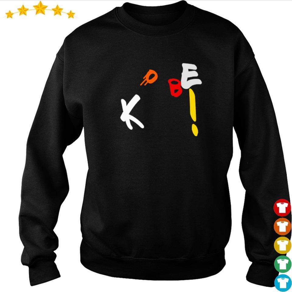 Funny Kobe Bryant throw the basketball s sweater