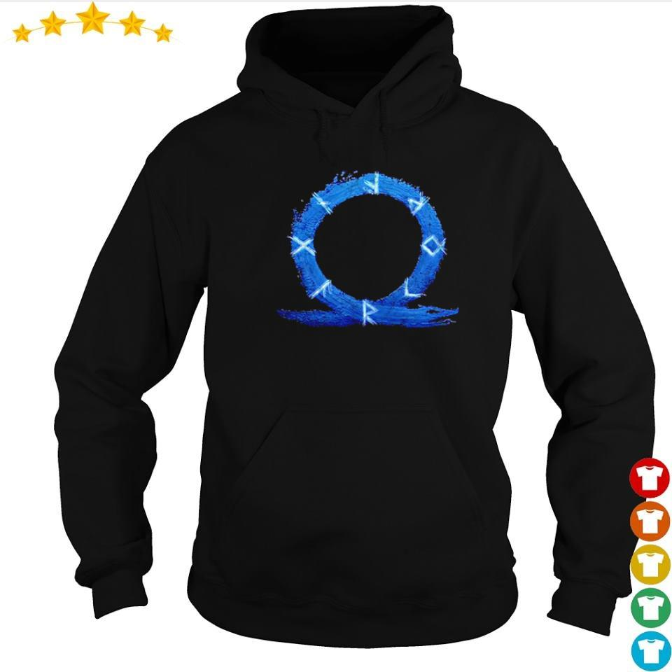 God of War Ragnarok symbol s hoodie