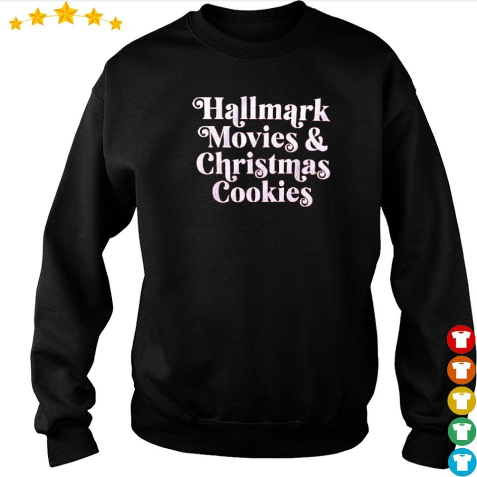 Hallmark movies and Christmas cookies sweater