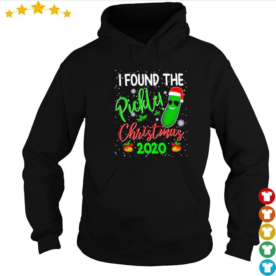 I found the pickle Christmas 2020 sweater hoodie