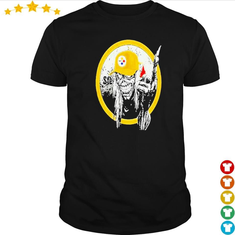 Iron Maiden fuck Pittsburgh Steelers 2020 shirt