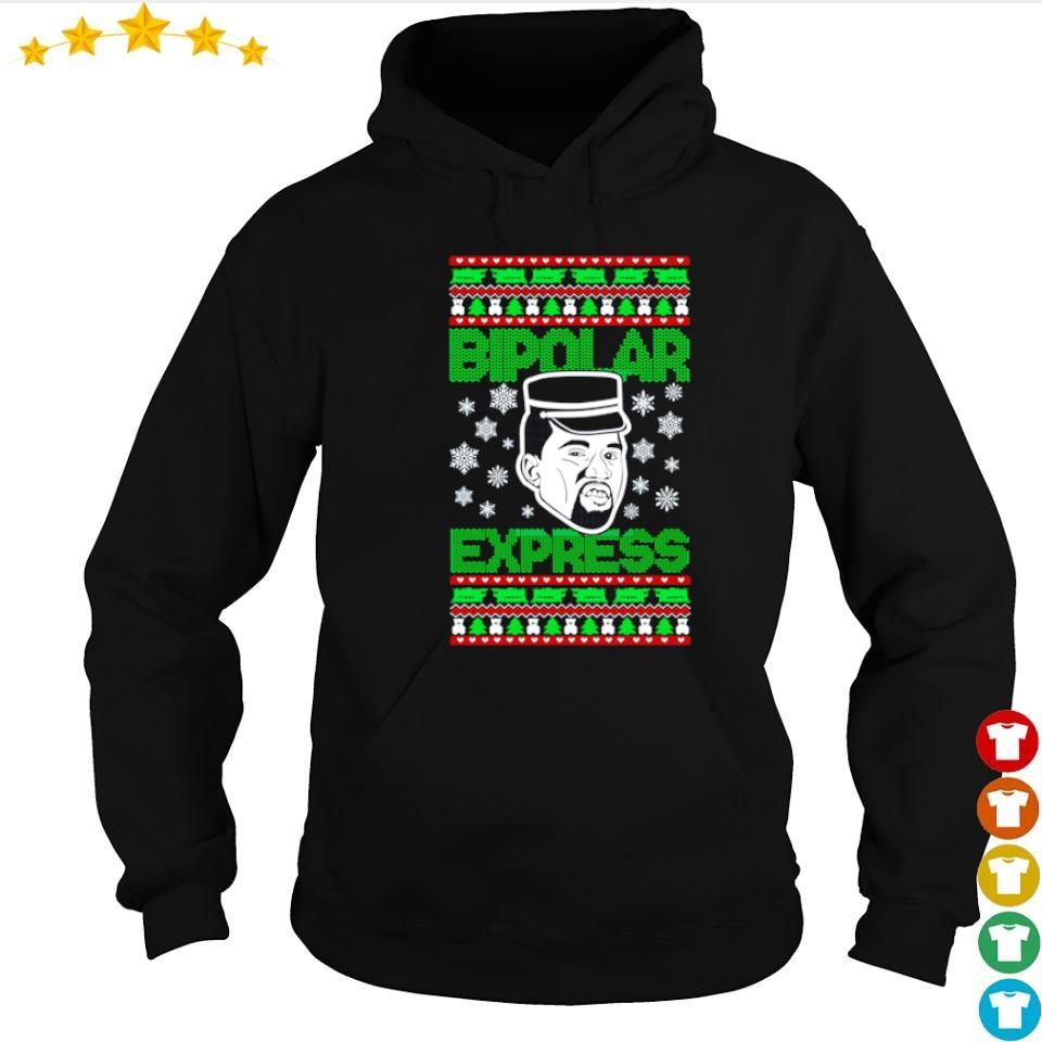 Kanye West bipolar express Christmas sweater hoodie