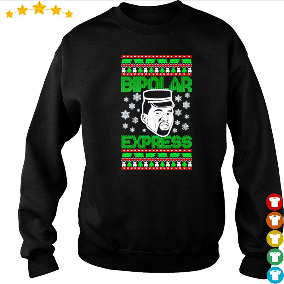 Kanye West bipolar express Christmas sweater