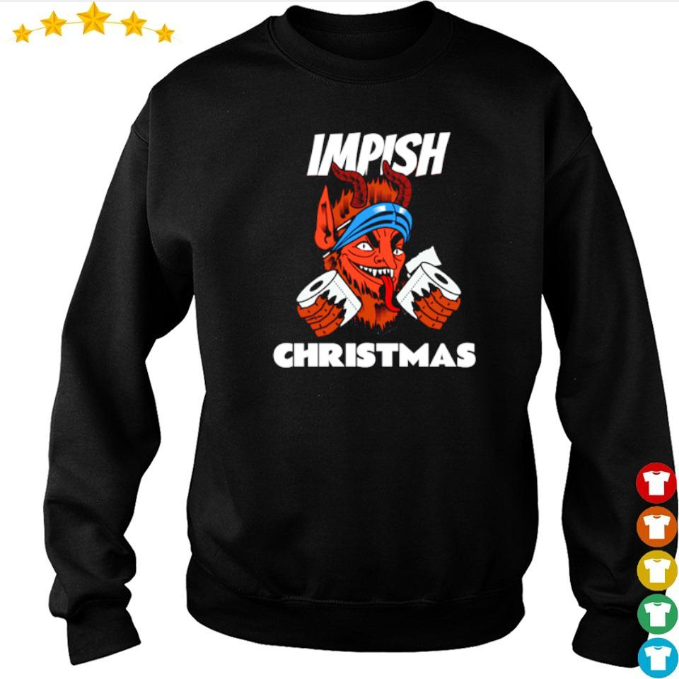 Krampus impish Christmas sweater