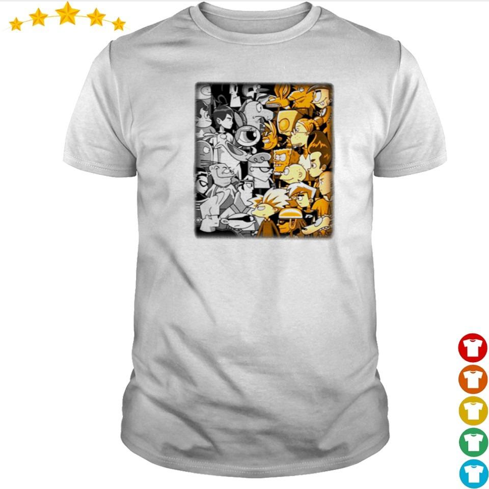 Official clash of toons cartoon shirt