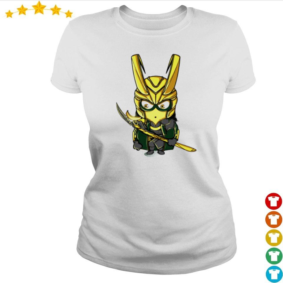 Official cute chibi Loki minion s ladies