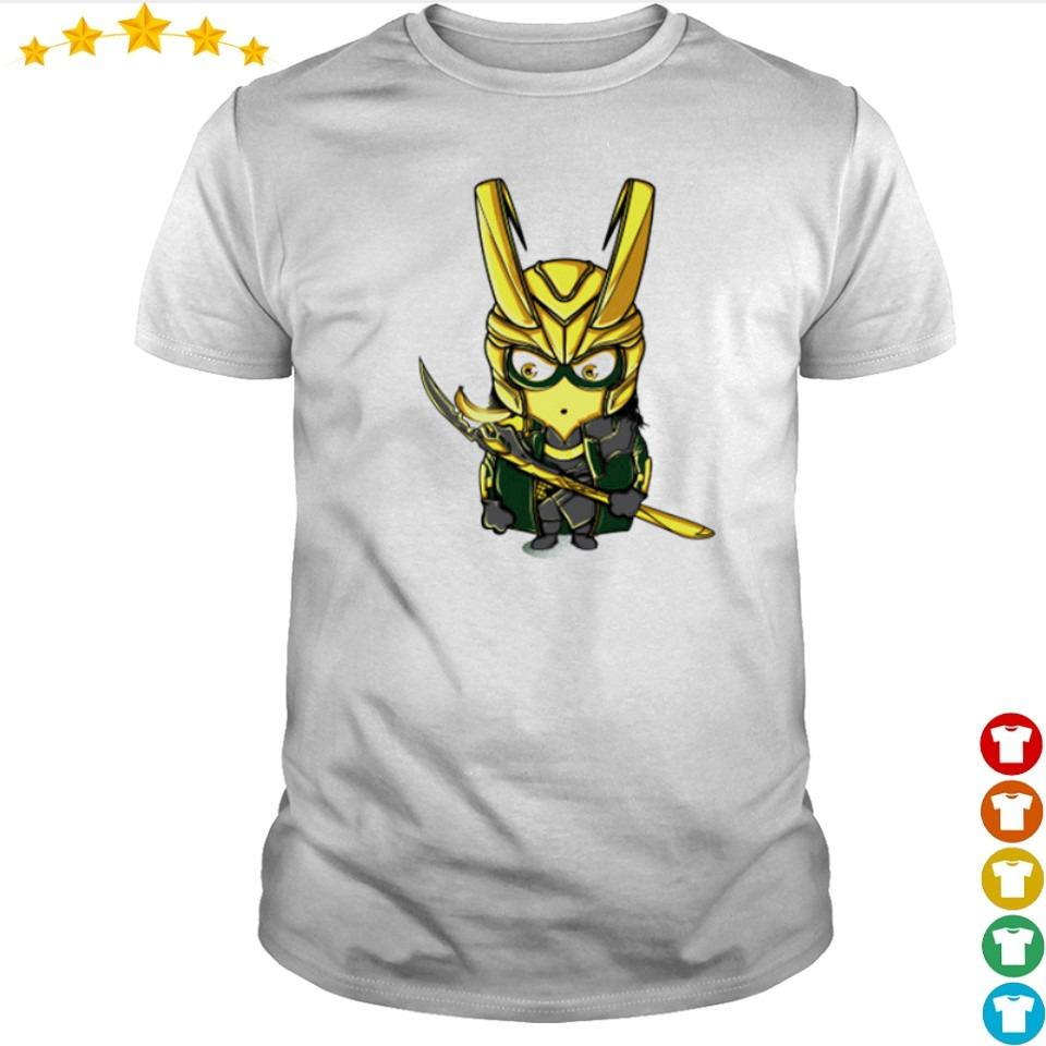 Official cute chibi Loki minion shirt