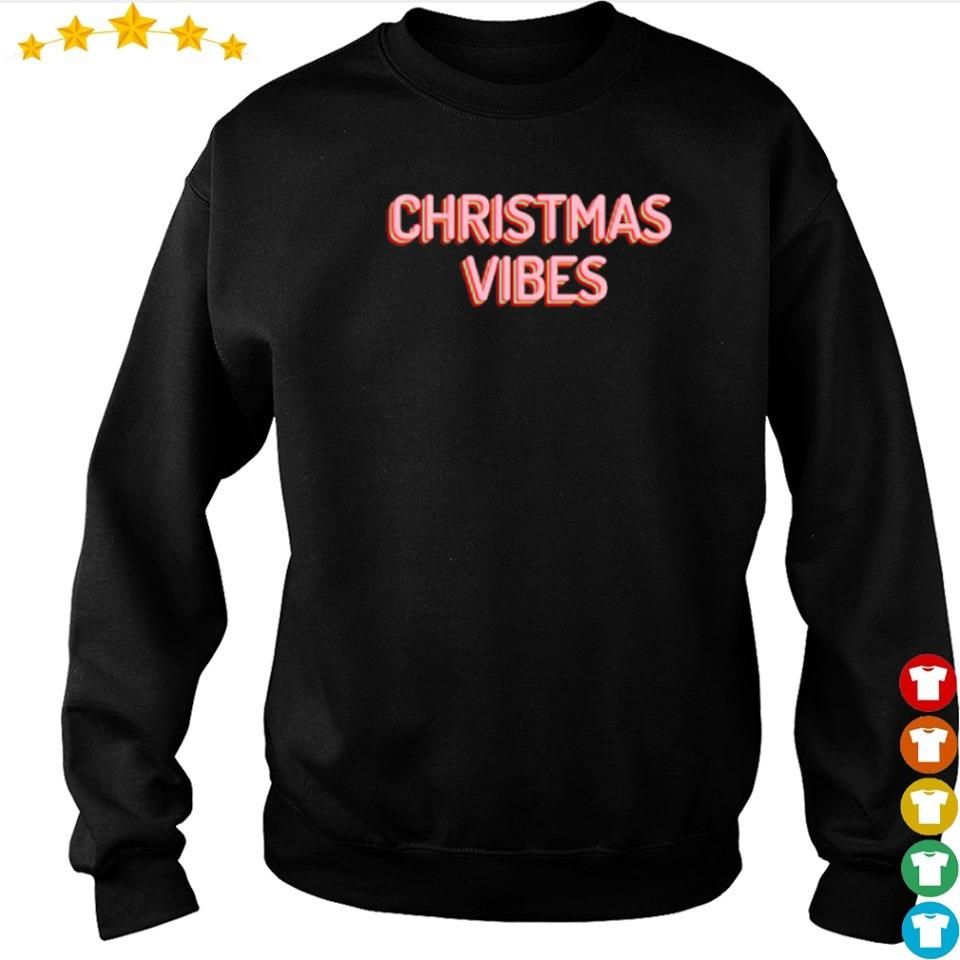 Official merry Christmas vibes sweater