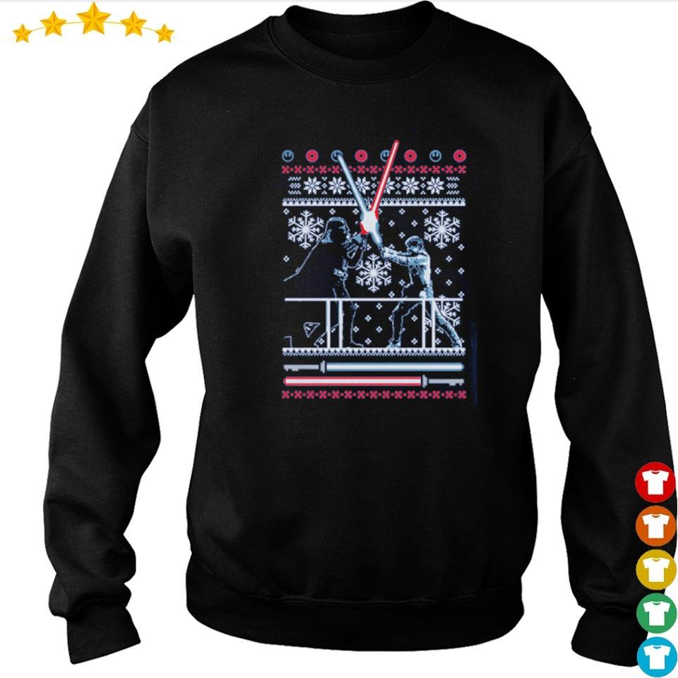 Official Star Wars duel merry Christmas sweater